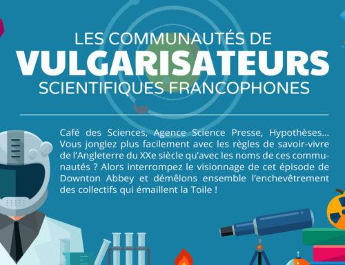 Infographie. Les communautés de vulgarisateurs scientifiques